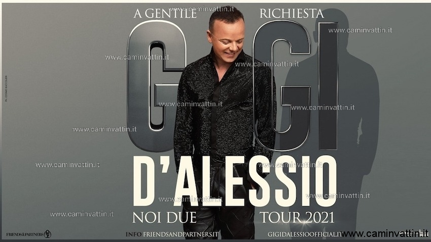 gigi d'alessio noi due tour 2021