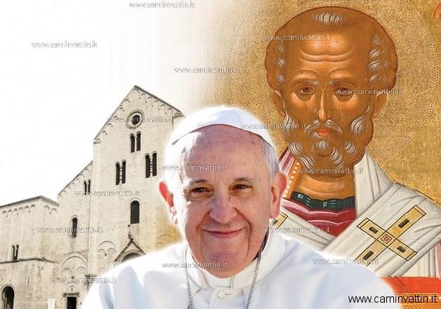 papa francesco cattedrale bari 23 febbraio