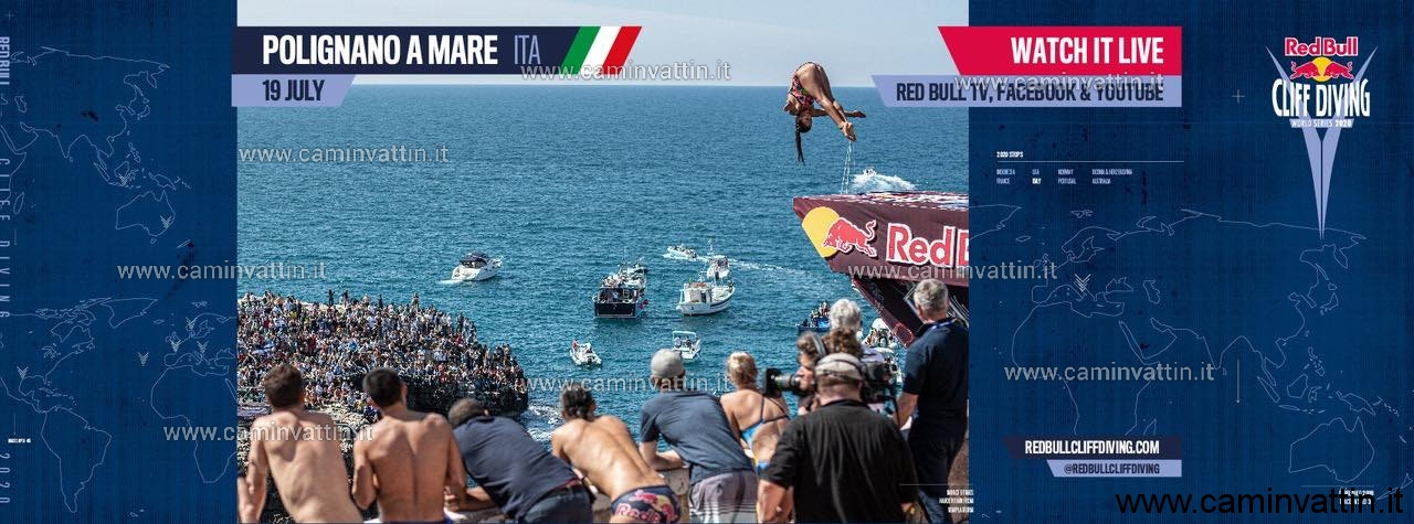 red bull cliff diving 2020 polignano a mare