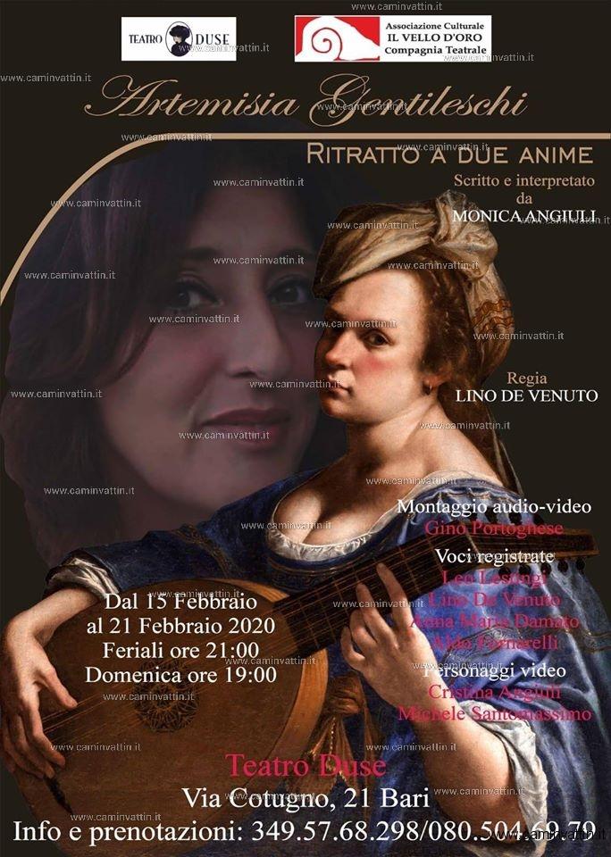 Artemisia Gentileschi Ritratto a due anime