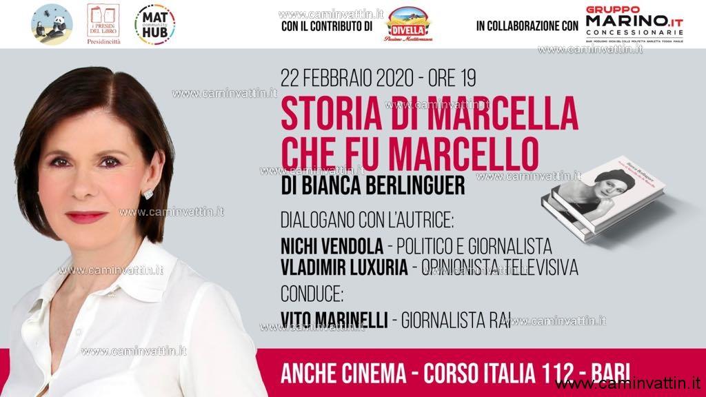 Bianca Berlinguer Storia di Marcella che fu Marcello