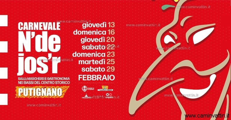Carnevale N'de Jos'r 2020 Putignano