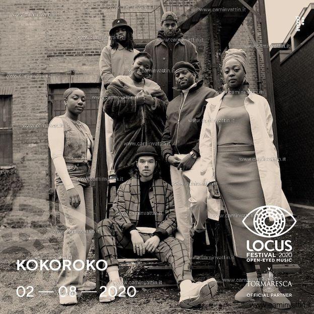 KOKOROKO live Locus Festival 2020