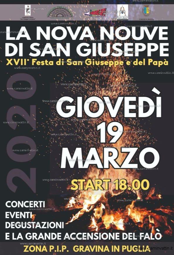 La Nova Nouve di San Giuseppe Gravina in Puglia