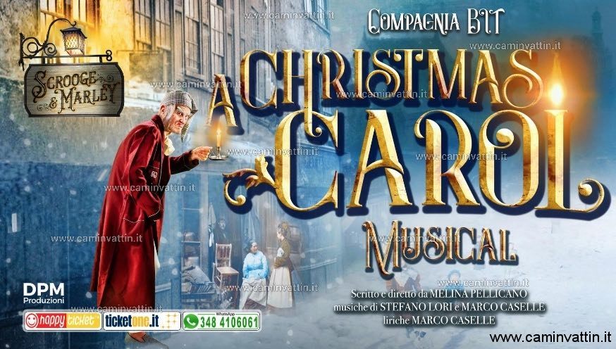a christmas carol musical bari teatro team