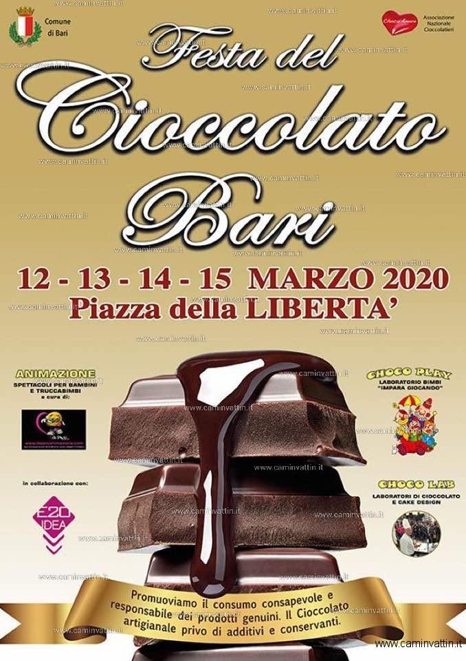festa cioccolato 2020 bari
