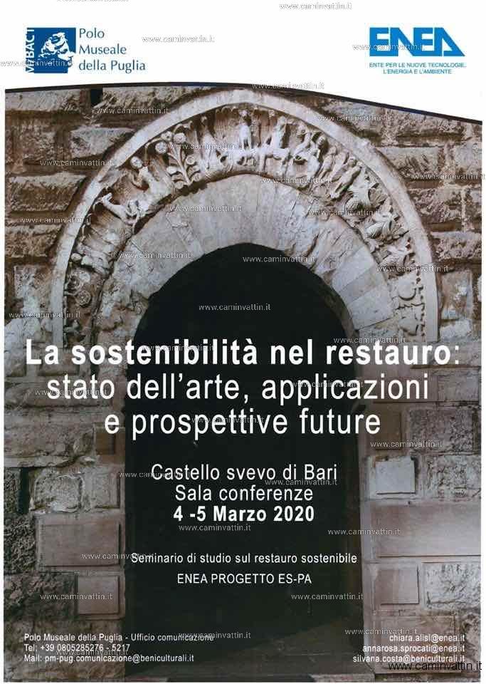 la sostenibilita nel restauro