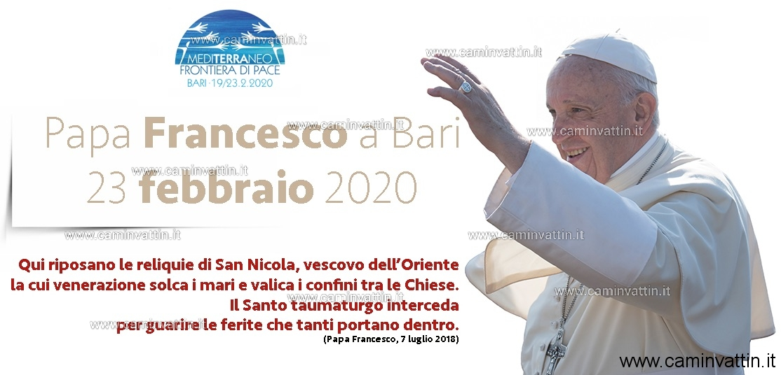 messa papa francesco a bari