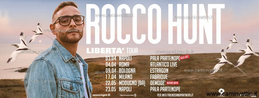 rocco hunt liberta tour