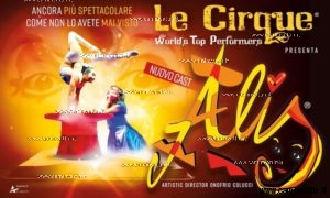 Le Cirque World's Top Performers Alis teatro team bari