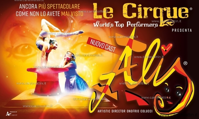 Le Cirque World's Top Performers Alis teatro team bari