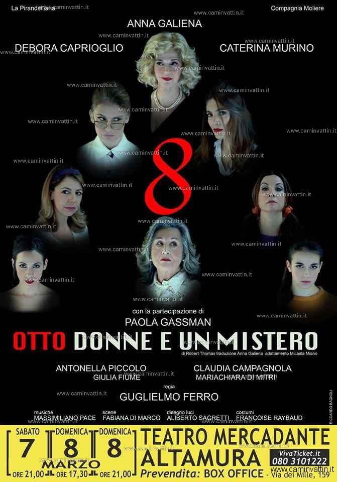 Otto donne e un mistero Teatro Mercadante