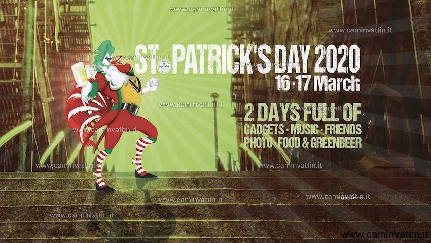 St Patricks Day 2020 Joys Pub Bari