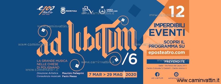 festival ad libitium 2020 polignano a mare
