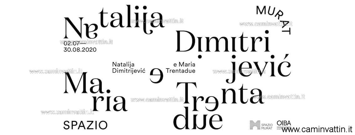 Nataljia Dimitrjević e Maria Trentadue mostra Spazio Murat