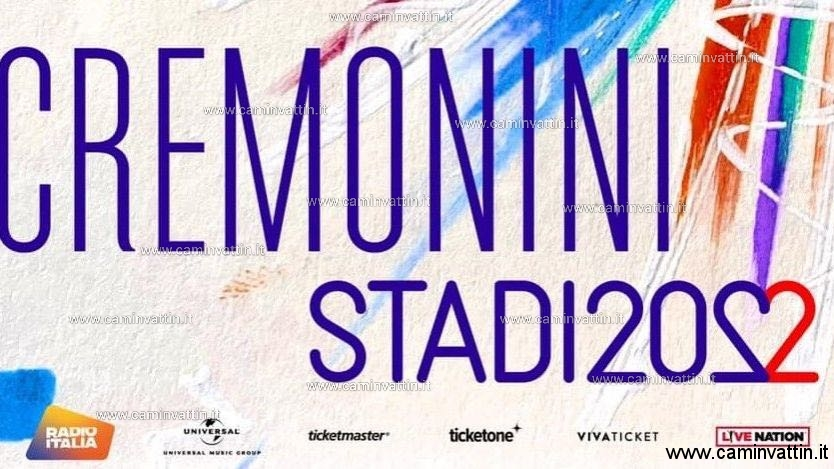 cremonini stadi 2022 tour