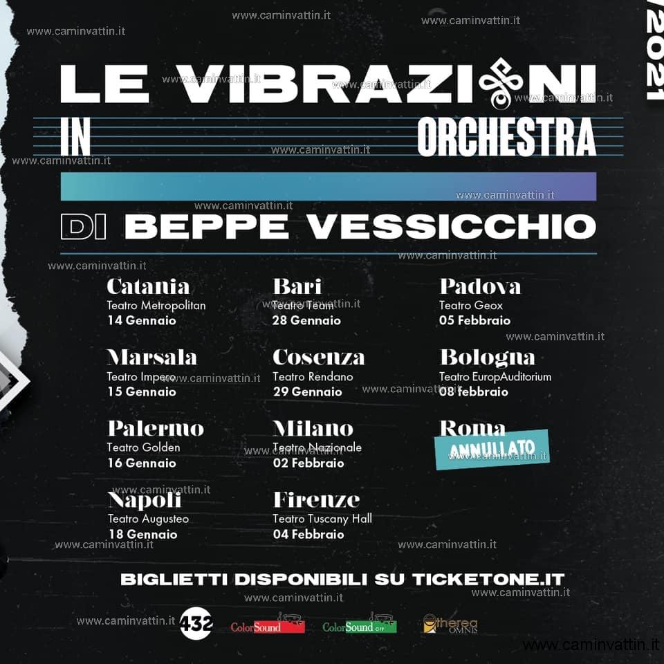 le vibrazioni tour 2021 con beppe vessicchio