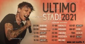 ultimo stadi 2021 tour concerto bari