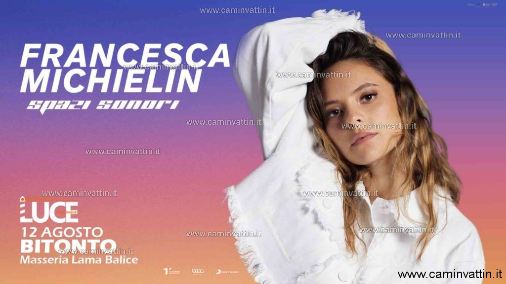 FRANCESCA MICHIELIN CONCERTO BITONTO LUCE MUSIC FESTIVAL