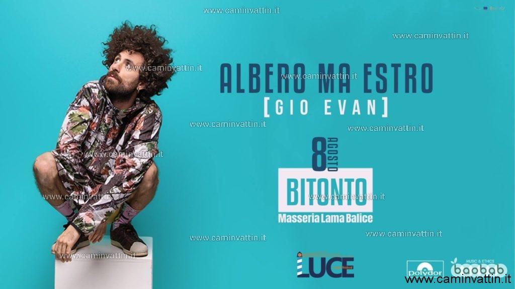 GIO EVAN CONCERTO BITONTO LUCE MUSIC FESTIVAL
