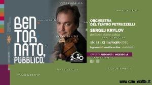 Sergej Krilov in concerto Orchestra del Teatro Petruzzelli