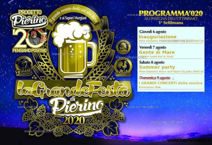 programma 1 festa della birra cassano 2020