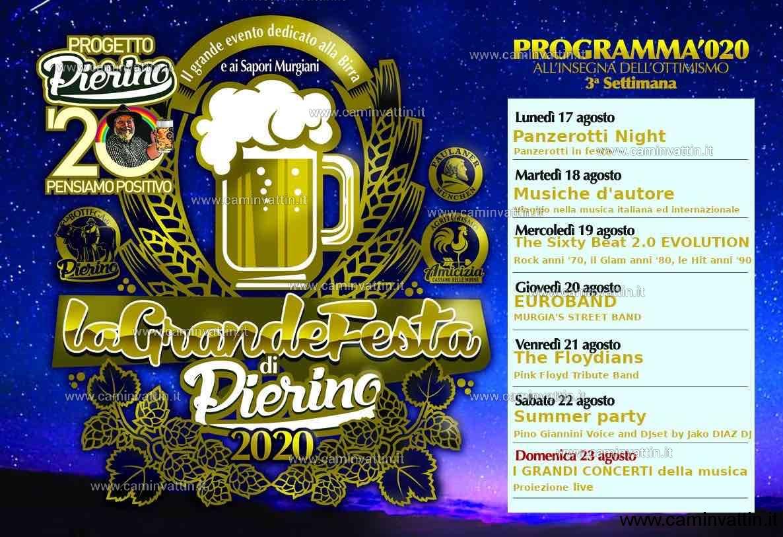 programma 3 festa della birra cassano 2020