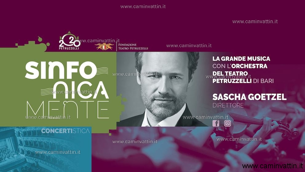 Sascha Goetzel dirige Orchestra del Teatro Petruzzelli