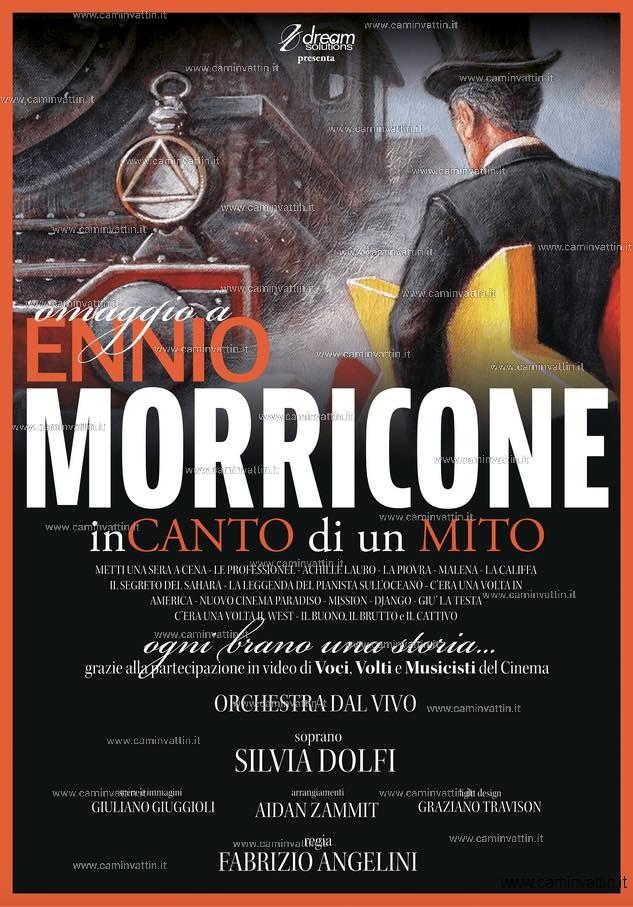 Omaggio a Ennio Morricone inCANTO di un MITO