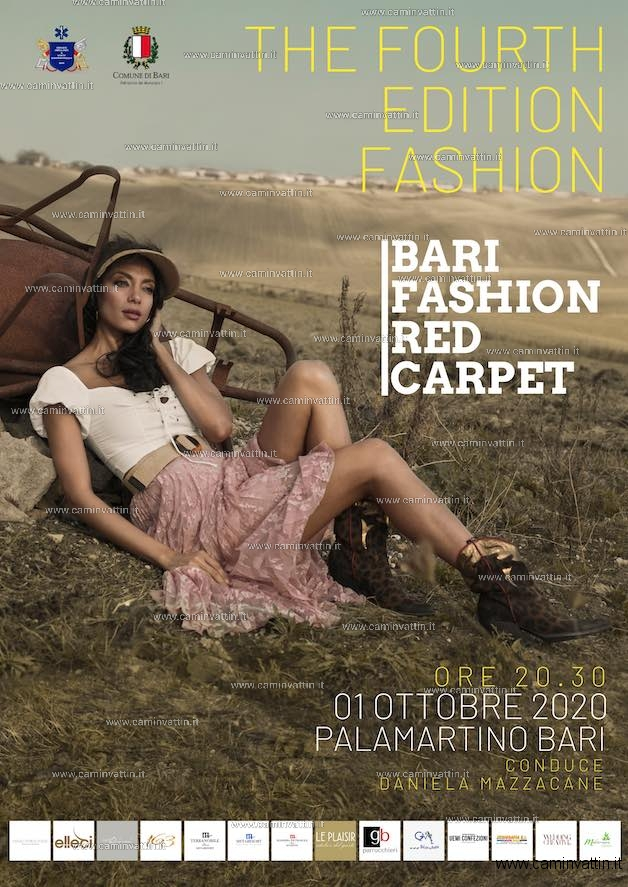 bari fashion red carpet 2020