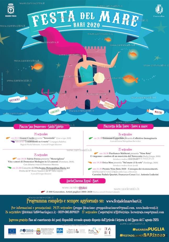 festa del mare bari 2020 programma