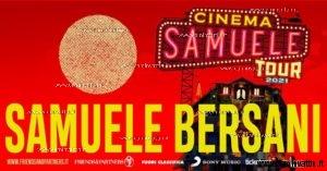cinema samuele bersani tour 2021