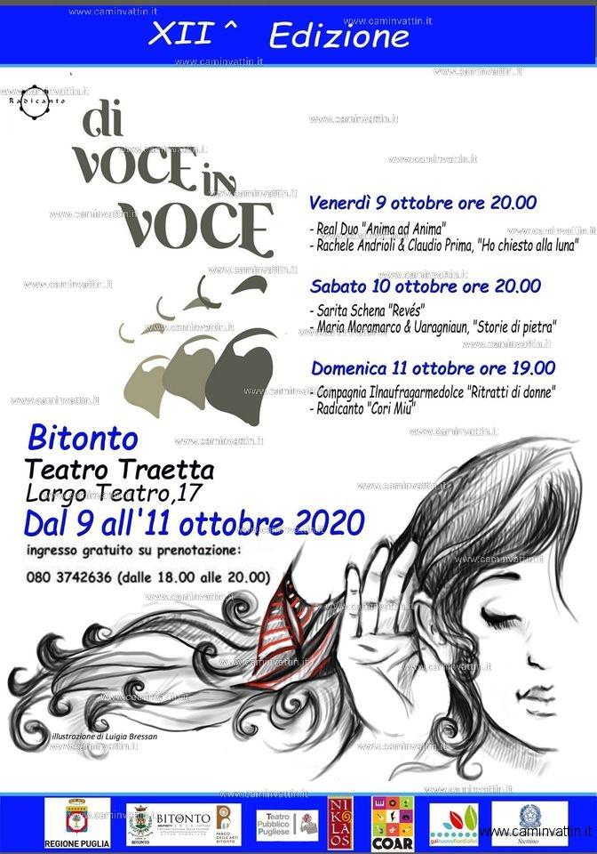 di voce in voce 2020 festival