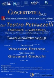 concerto streaming teatro petruzzelli