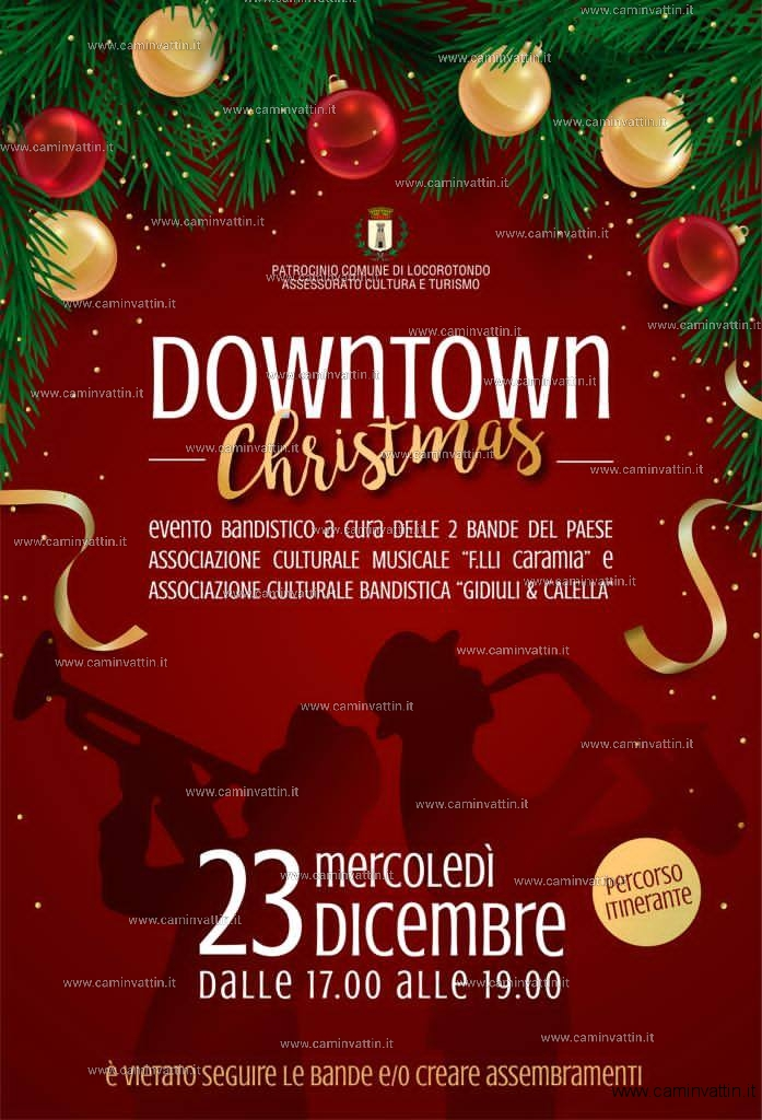 downtown christmas locorotondo