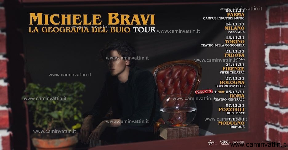 michele bravi tour 2021
