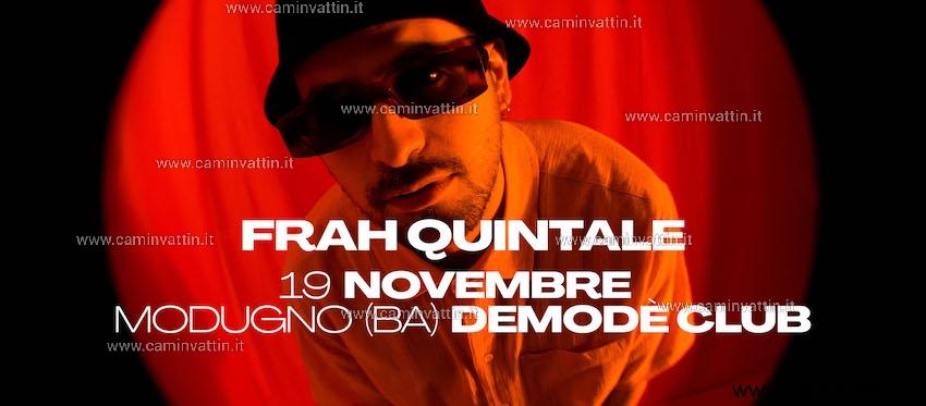 Frah Quintale in concerto al Demode Banzai Tour