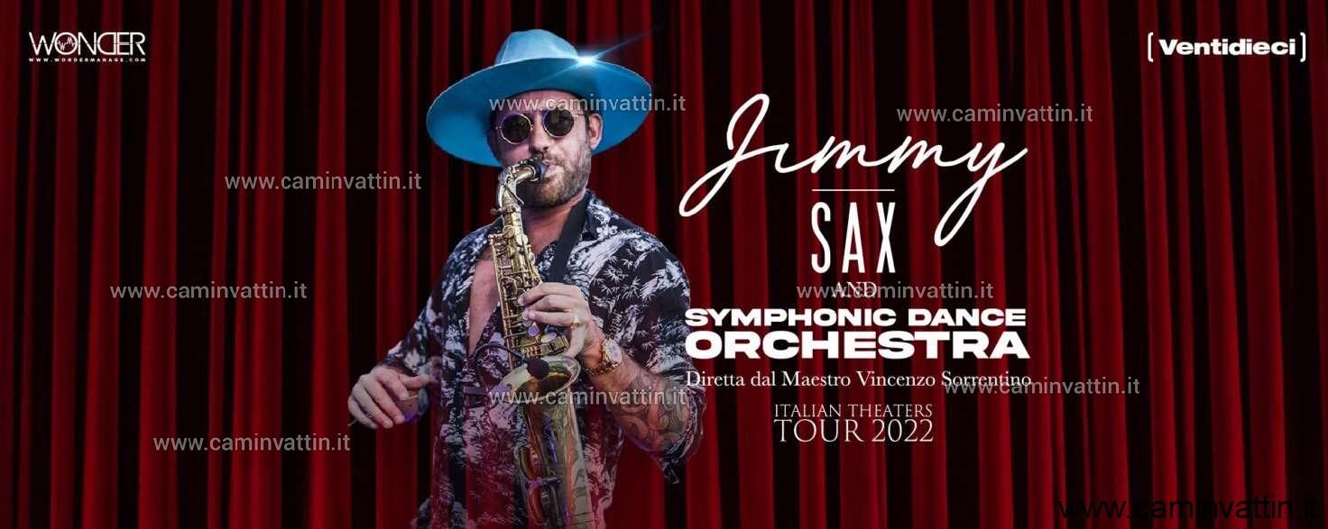 Jimmy Sax and Symphonic Dance Orchestra al Teatro Team di Bari