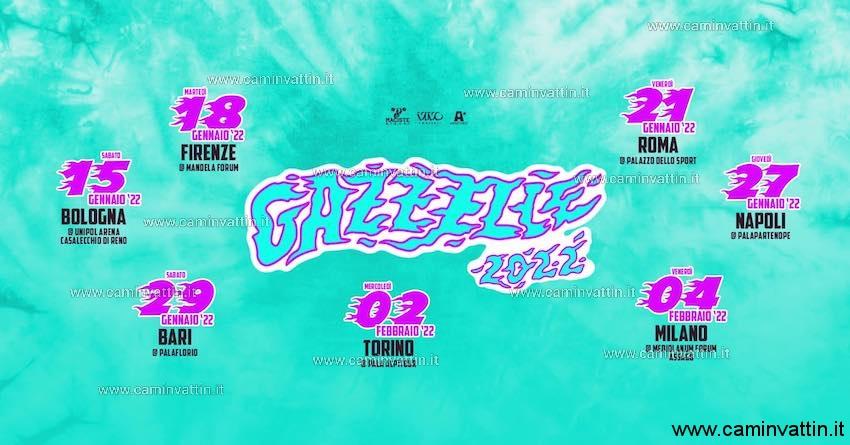 gazzelle tour 2022 bari