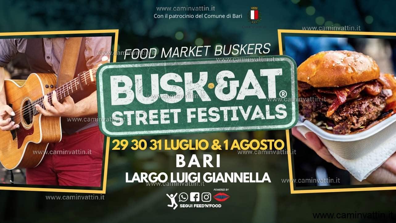 buskeat bari Buskers e Food Truck festival