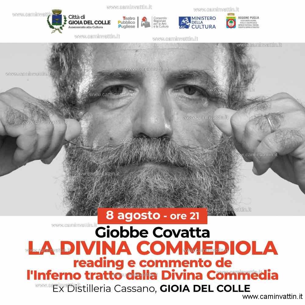 GIOBBE COVATTA in La Divina Commediola a Gioia del Colle