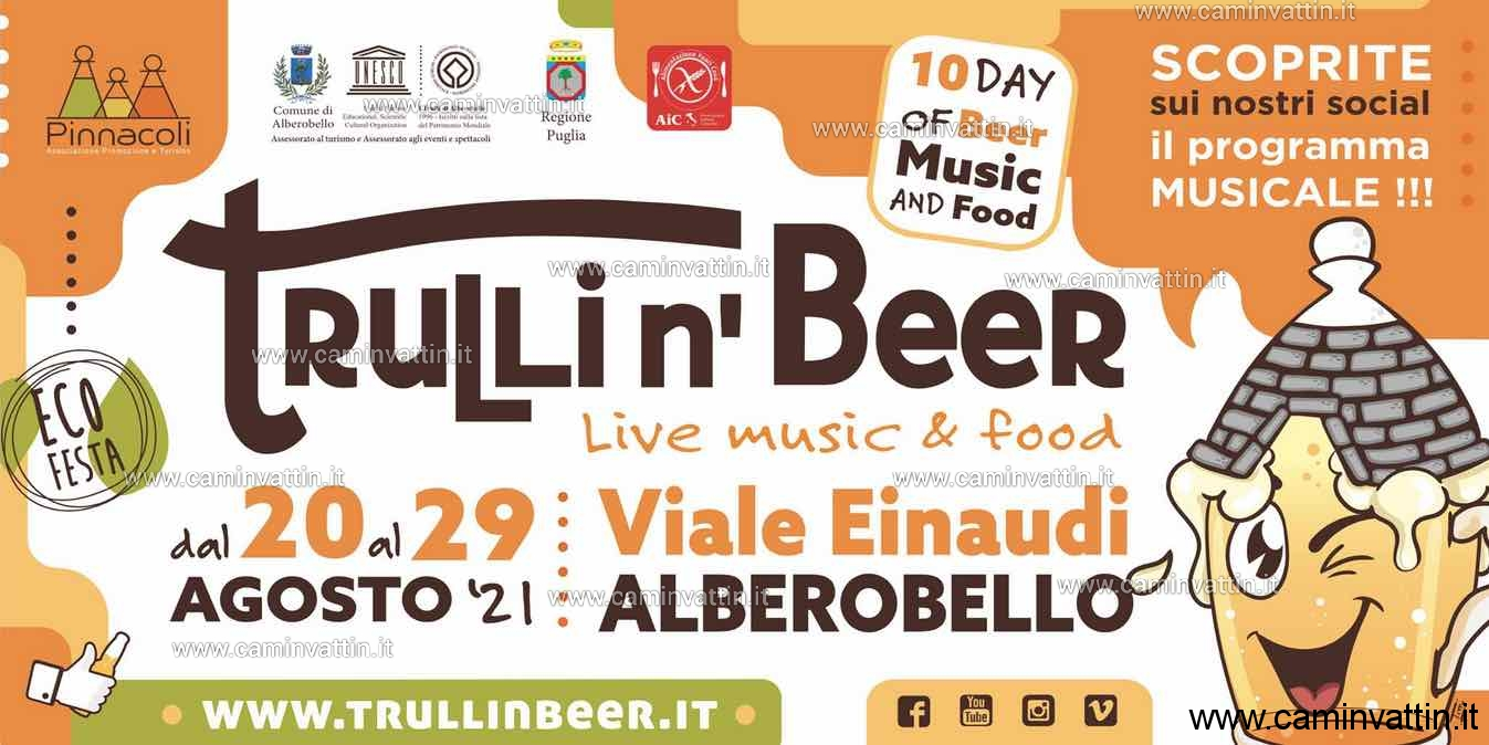 TRULLI n' BEER ad Alberobello