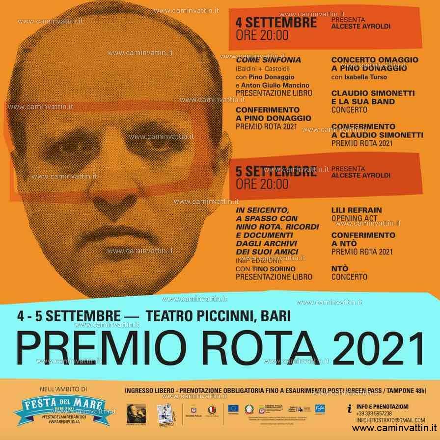 Premio Nino Rota 2021 Teatro Piccinni