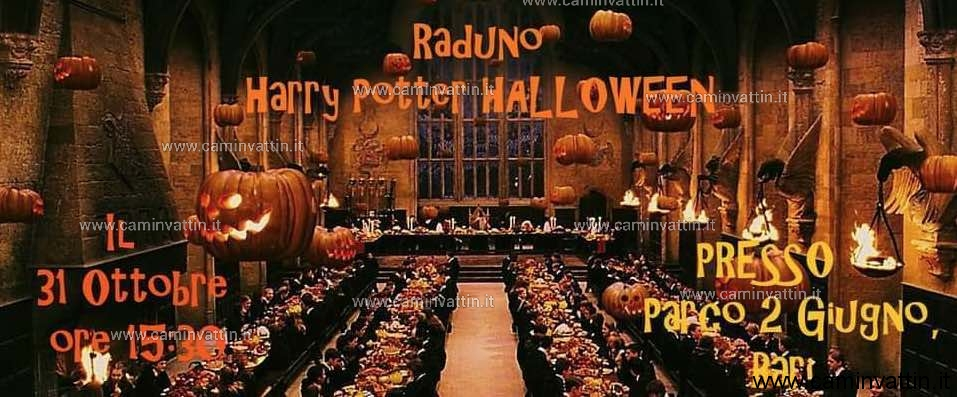 Raduno Harry Potter Halloween a Parco due Giugno