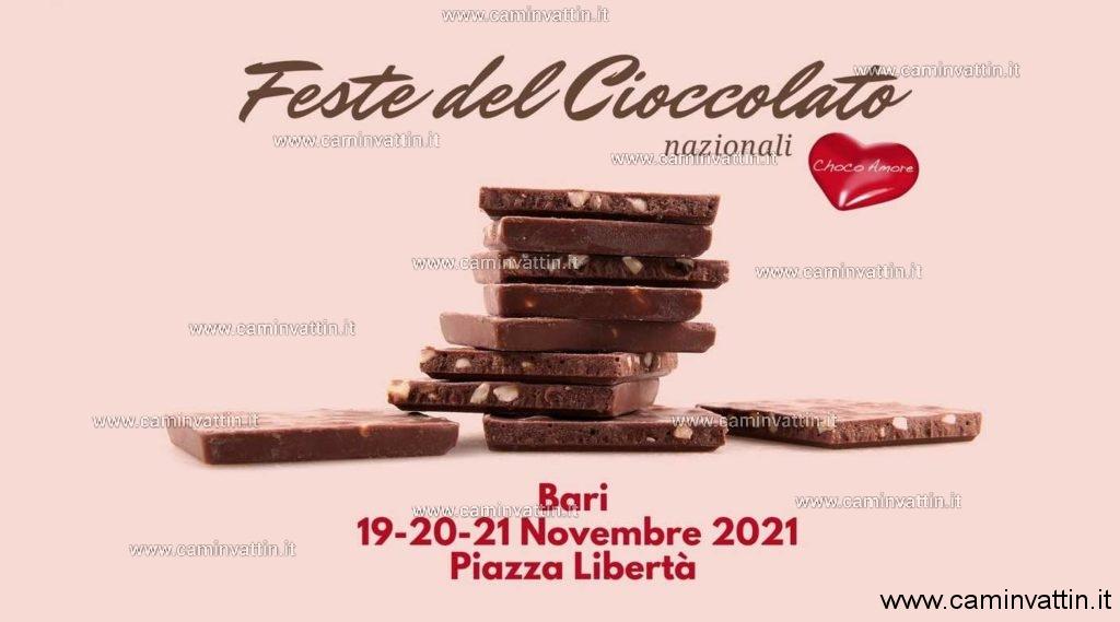 festa del cioccolato 2021 bari