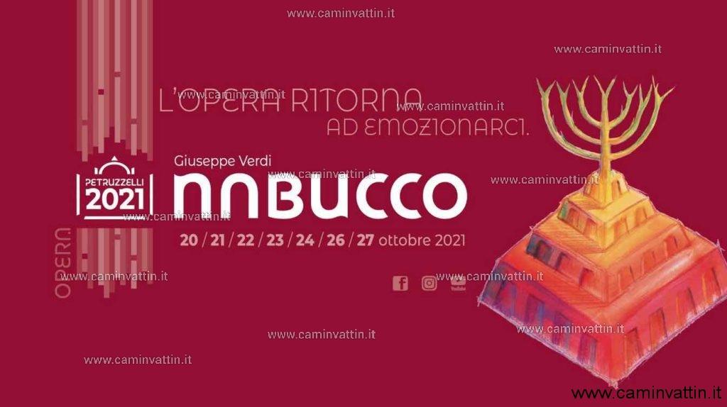 nabucco giuseppe verdi teatro petruzzelli