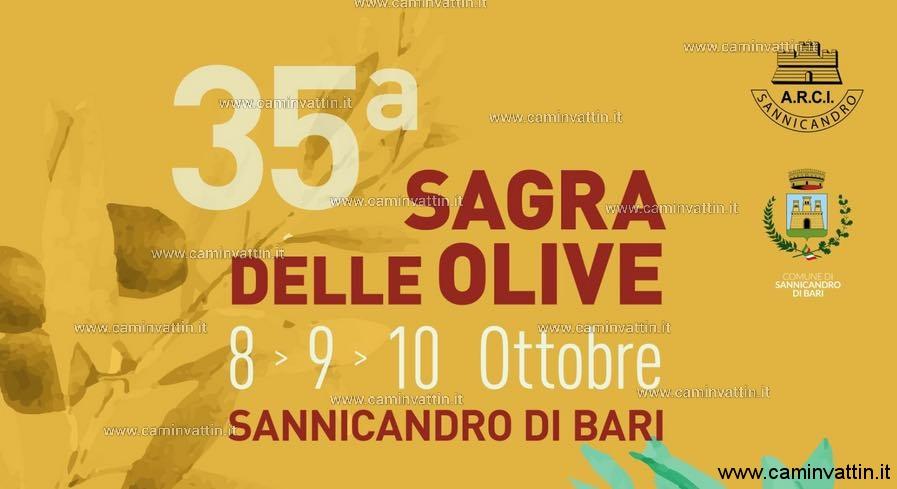 sagra delle olive 2021 sannicandro di bari