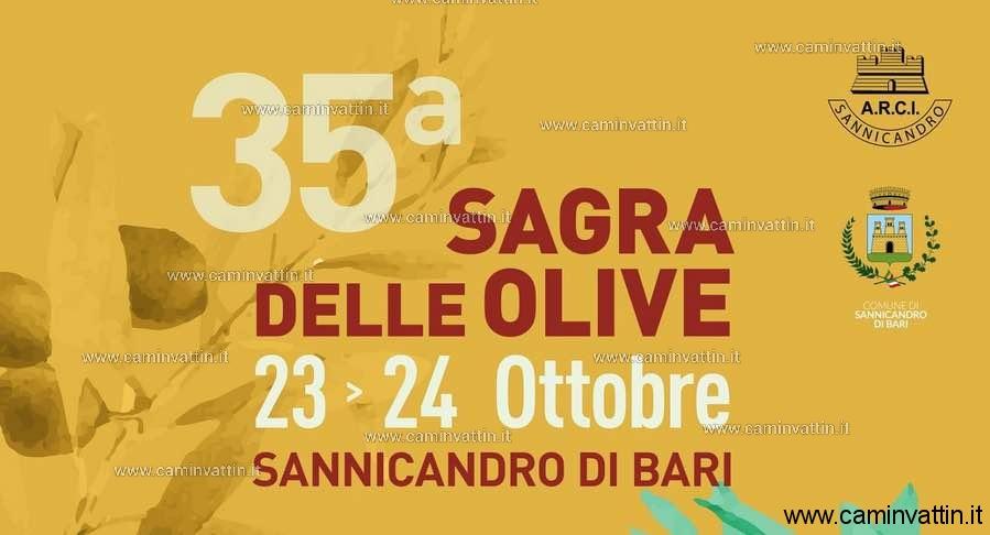 sagra olive 2021 sannicandro di bari