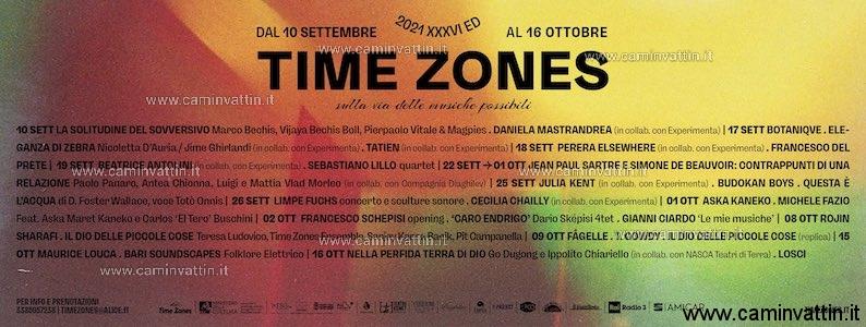 time zones festival 2021