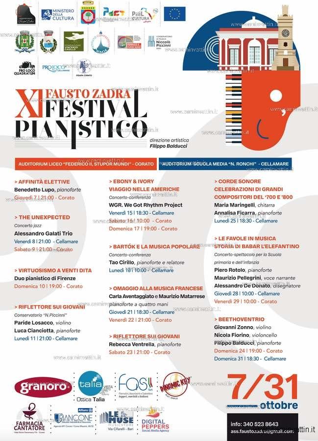 festival pianistico corato cellamare 2021